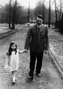 hitler and girl child